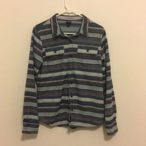 Patagonia retro button up heavy cotton shirt med